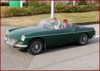 MG B Roadster Baujahr 1962-1980