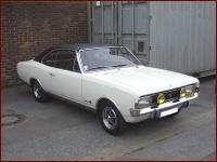 Opel Commodore A Coupe 1968-1972