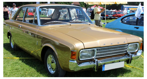 Ford Taunus P7 Coupe 1967-1971