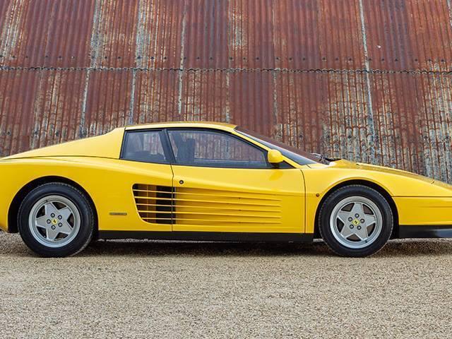 Ferrari Testarossa Kofferraum Rhd Baujahr 1984 1991 Rechtslenker Dgs Autoteppiche Gmbh